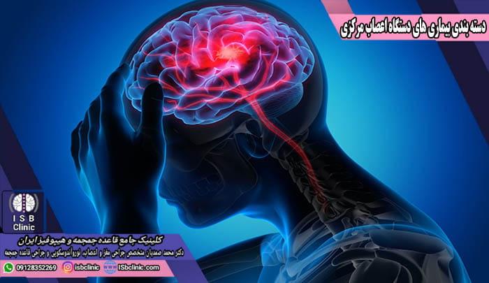 دسته بندی بیماری های سیستم اعصاب مرکزی